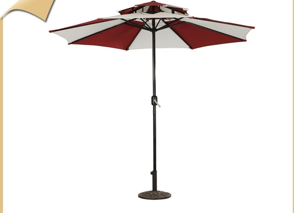 GU-02 DUBBLE ROOF UMBRELLA