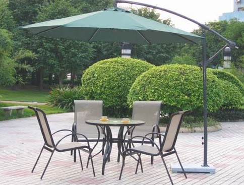GU-05 GARDEN UMBRELLA GREEN