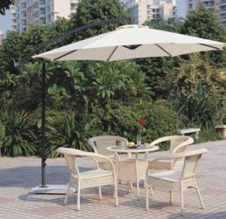 GU-05 GARDEN UMBRELLA WHITE