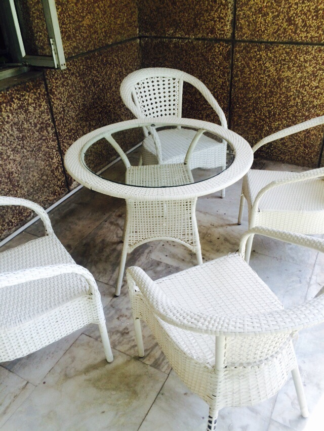 D-08 GARDEN SET WHITE COLOR