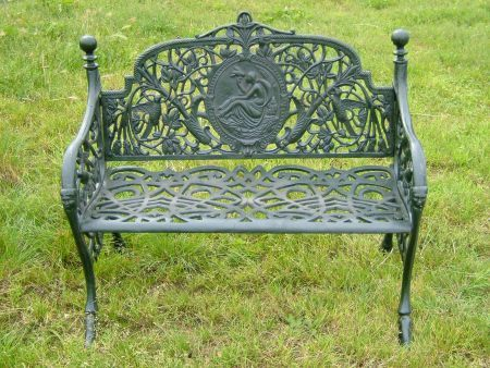 CIB-68 COMPLETE CAST IRON BENCH