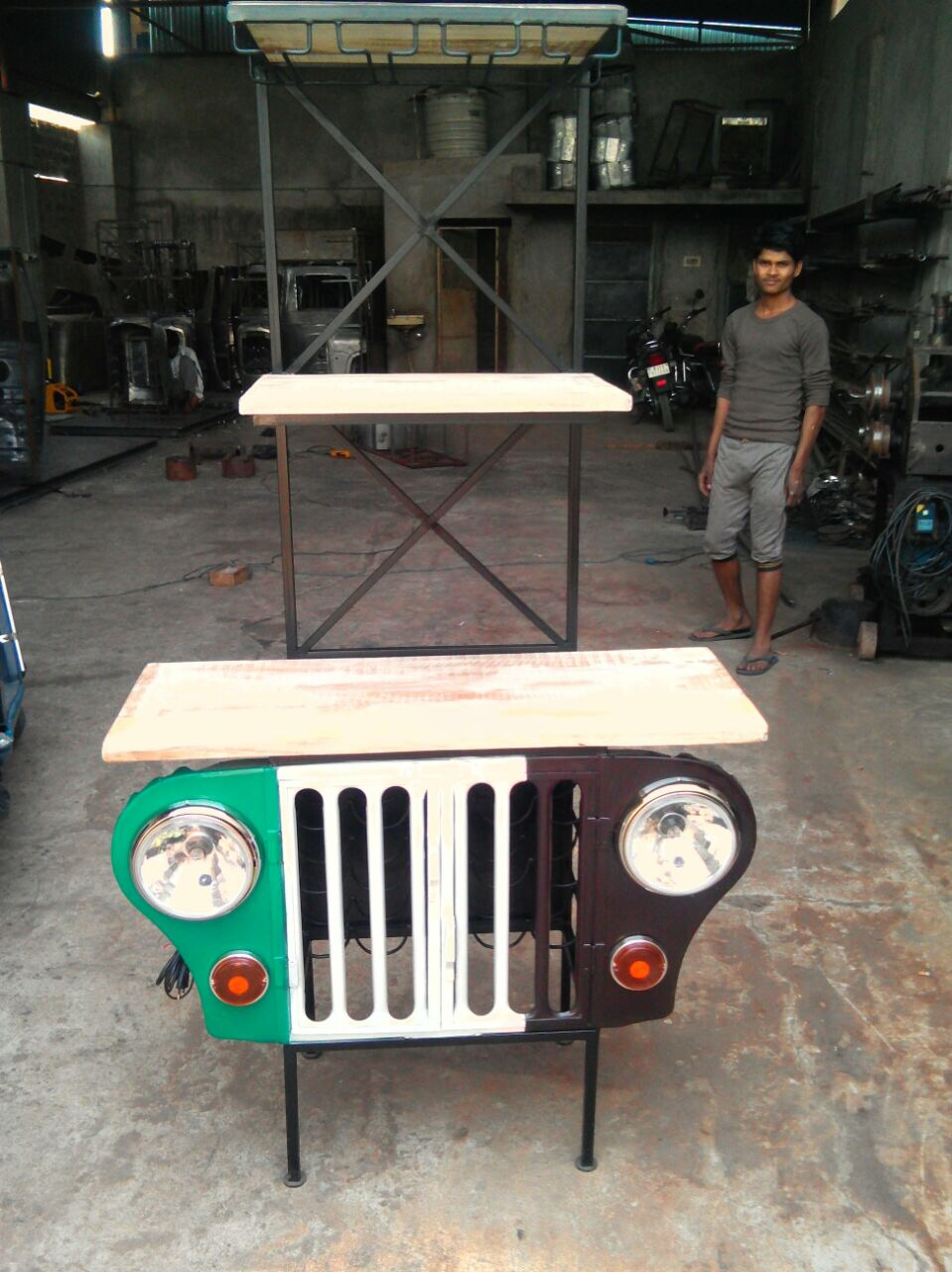 JEEP BEER COUNTER