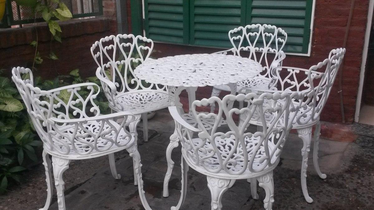 Fantástico Fabricantes De Muebles De Aluminio Fundido De Patio ...